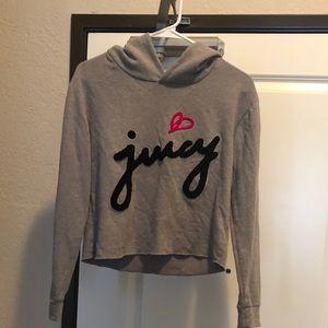 Juicy Couture Crop Sweatshirt Xs